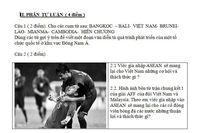 Chiến thắng của đội tuyển Việt Nam tại AFF cup được đưa vào đề kiểm tra THPT