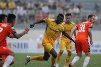 Hạ Đà Nẵng 2-0 ngay trên sân khách, SLNA leo lên nhì bảng