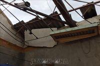 Lốc xoáy khiến hàng chục ngôi nhà ở Hương Khê, Hà Tĩnh bị tốc mái