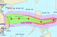 Siêu bão Goni sức gió tới 220 km/giờ di chuyển nhanh vào biển Đông và miền Trung Việt Nam