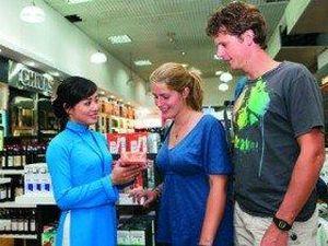 Thêm ngoại tệ được giao dịch tại cửa hàng miễn thuế