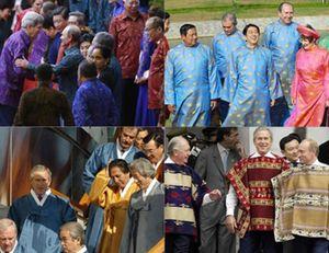 Muôn vẻ thời trang APEC dành cho các nhà lãnh đạo