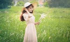Nữ sinh dân tộc Tày xinh xắn của trường Báo
