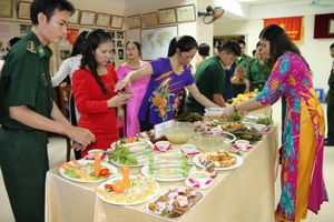 Giao lưu 'Văn nghệ - Ẩm thực' chào mừng kỷ niệm 86 năm thành lập Hội LHPN Việt Nam