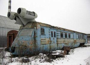 Phát hiện tàu hỏa phản lực từ thời Liên Xô có thể lướt nhanh như máy bay