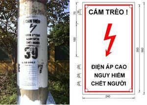 Lắp đặt biển báo an toàn điện: Làm để đối phó?