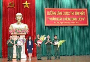 Công bố và trao giải tác giả đoạt giải kỳ thứ 17 và 18, Cuộc thi tìm hiểu '70 năm Ngày Thương binh-Liệt sĩ'
