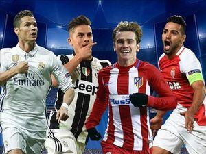 VTV3 trực tiếp tứ kết Champions League