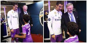 Sir Alex chờ bằng được Ronaldo để chúc mừng