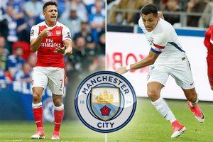 Arsenal cay đắng nhìn Alexis Sanchez chạy sang Man City