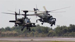 Mỹ khoe tính năng cực dị của AH-64E tại Dubai Airshow