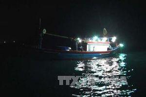 Khẩn trương tìm kiếm thuyền viên mất tích trên vùng biển Cô Tô