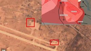 IS đánh Deir-Ezzor Airbase:Phá 5 máy bay, sát hại 63 lính Nga-Syria