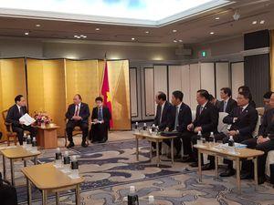 Bộ trưởng Trần Tuấn Anh tham dự và trao đổi tại buổi tiếp Chủ tịch Tập đoàn Aeon Nhật Bản