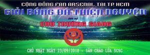 Cộng đồng Fan Arsenal chung tay ủng hộ anh Chu Trường Giang