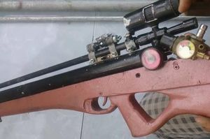 Nghệ An: Tiêu hủy hàng trăm súng tự chế