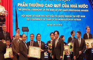 Thủ tướng Chính phủ trao tặng bằng khen cho UBND thành phố Hải Phòng