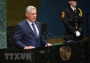 Cuba kêu gọi Quốc hội Mỹ dỡ bỏ biện pháp cấm vận kinh tế