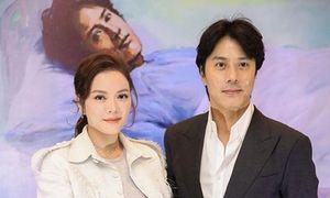 Vợ đẹp, con xinh của Han Jae Suk đóng phim cùng Lý Nhã Kỳ