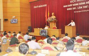 Kỳ họp thứ 29 BCH Đảng bộ tỉnh Khóa XIV: Quyết tâm hoàn thành các mục tiêu đề ra năm 2018