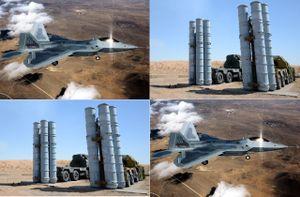 'Chiến thần bất bại' F-22: Đối thủ tiềm năng của S-300 tại mặt trận Syria?