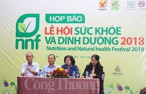 Hơn 100 doanh nghiệp tham gia Lễ hội sức khỏe và dinh dưỡng TP. Hồ Chí Minh 2018