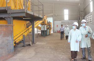 Giám sát xử lý chất thải tại Khu xử lý Quang Trung
