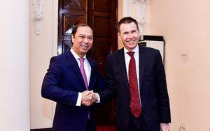 Đối thoại chiến lược ngoại giao - quốc phòng lần 6 Việt Nam-Australia