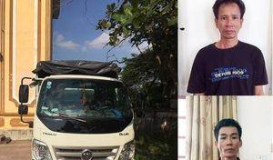 Hà Tĩnh: Bắt nhanh đối tượng dùng xe tải trộm bò đi tiêu thụ liên tỉnh