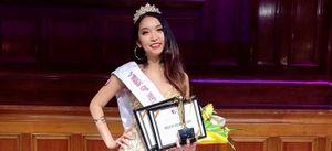 Lộ diện nữ sinh giành vương miện Miss 'VMISS of Melbourne' 2018