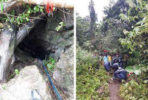 3 người đàn ông tử vong trong hang đá ở Thái Nguyên