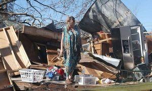 Khung cảnh như ngày tận thế ở Mỹ sau bão Michael