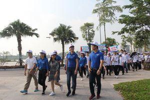 Hoa hậu Ngọc Hân cùng đoàn viên, thanh niên 'đi bộ vì cộng đồng'