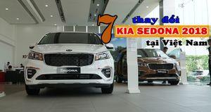 7 thay đổi trên KIA Sedona 2018 tại Việt Nam