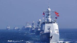 TQ tập trận hải quân cùng Malaysia, Thái Lan ở eo biển Malacca