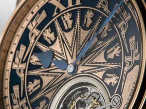Bí mật về những tuyệt tác đồng hồ lấy cảm hứng từ trống đồng Đông Sơn