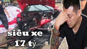 Dư luận xôn xao trước thông tin siêu xe hàng chục tỷ của Tuấn Hưng gặp tai nạn
