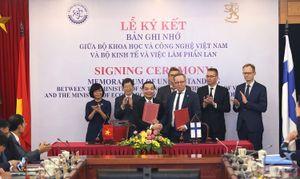 Việt Nam – Phần Lan mở ra chương mới trong hợp tác khoa học công nghệ