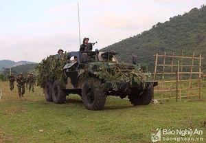 Quân khu 4 kiểm tra toàn diện quân sự - quốc phòng tỉnh Nghệ An năm 2018