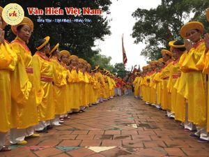 Vĩnh Phúc: Khai hội rước kiệu xã Đại Đồng (Vĩnh Tường)