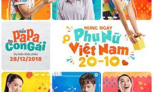 Ê kíp phim 'Hồn Papa Da Con Gái' chúc mừng ngày Phụ Nữ Việt Nam 20/10