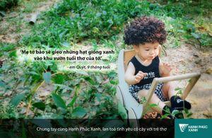 Đến phố đi bộ Trịnh Công Sơn nghe trẻ em nói về hạnh phúc xanh