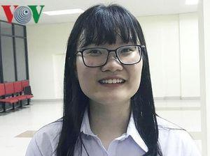 Ước mơ giản dị của 'cô gái vàng' Olympic Sinh học quốc tế
