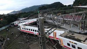 Tai nạn tàu hỏa thảm khốc ở Đài Loan, ít nhất 17 người thiệt mạng