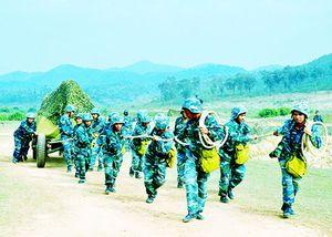 Sư đoàn Phòng không 377: Huấn luyện nâng cao năng lực tác chiến