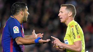Barca buồn vui lẫn lộn vì trọng tài ở siêu kinh điển