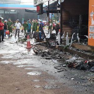 Vụ cháy cửa hàng kinh doanh hoa ở Đắk Lắk: Nạn nhân không kịp thoát thân