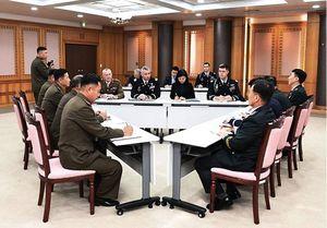 Liên Triều hội đàm 3 bên với Bộ tư lệnh Liên hợp quốc