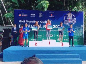 Phạm Thị Huệ đoạt HCV Giải marathon quốc tế di sản Hà Nội