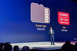 Thẻ nhớ Nano Memory Huawei vừa ra mắt có gì mới?